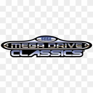 Sega Mega Drive Classics Logo Hd Png Download 1382x396 137021 Pinpng