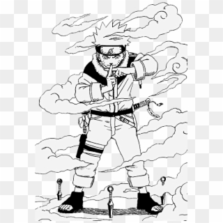 Naruto Bijuu Mode coloring page | Free Printable Coloring Pages | 320x320