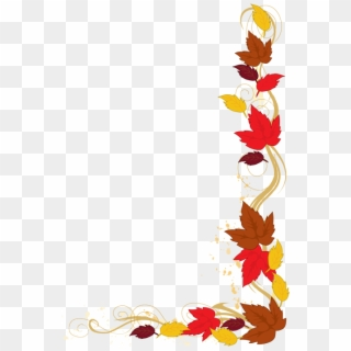 Free Fall Leaves Border PNG Images | Fall Leaves Border