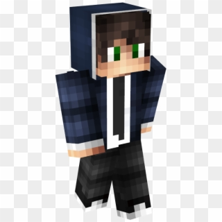 So It S A Guy With A Navy Blue Hoodie Male Hoodie Minecraft Skins Hd Png Download 400x800 1432368 Pinpng