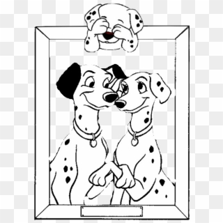 Disney 101 dalmatians coloring pages for kids with Christmas ... | 320x320