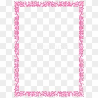 Free Pink Frame Png Images Pink Frame Transparent Background