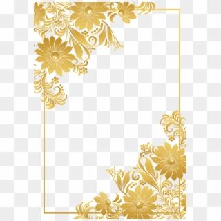 Free Golden Border PNG Images | Golden Border Transparent