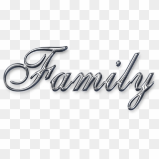 Free Family Word Art PNG Images | Family Word Art