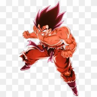 Goku Coloring Pages Kamehameha Stance Coloring4free - Goku ...