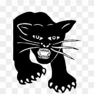 Original Black Panther Logo Black Panther Party Logo Outline Hd Png Download 954x1300 261877 Pinpng