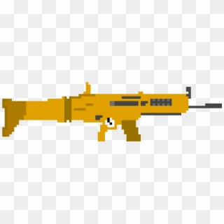 Scar Fortnite Pixel Art Fortnite Skin Transparent Png 1070x380