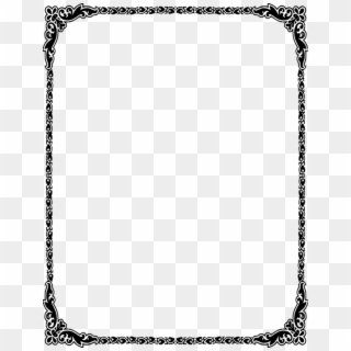 Free Invitation Card Border PNG Images