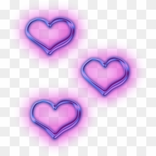 43 437939 purple aesthetic hearts png transparent png