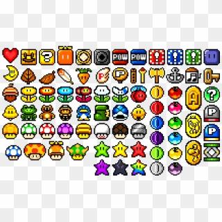 Mario Sprite Sheet Super Mario World Pixel Mario Hd Png