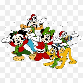 Mickey And Minnie Christmas Clipart At Getdrawings Mickey Mouse