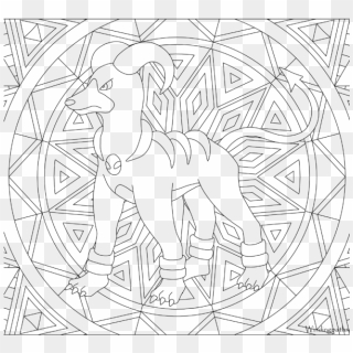 Adult Pokemon Coloring Page Houndoom - Coloring Pages New ...