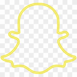 Snapchat Sticker Neon Snapchat Logo Png Transparent Png 1024x963 608621 Pinpng