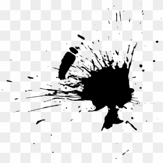 Free Black Paint Splash PNG Images | Black Paint Splash