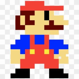 Free 8 Bit Mario Png Images 8 Bit Mario Transparent Background
