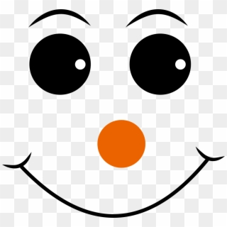 photo relating to Printable Snowman Faces named Purple - Snowman Confront Stencil Printable, High definition Png Down load